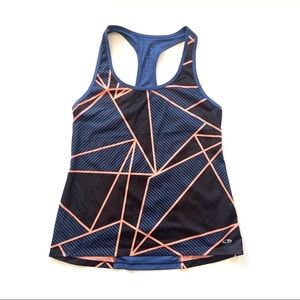 Champion Perforated Geometric Racerback Tank Top M